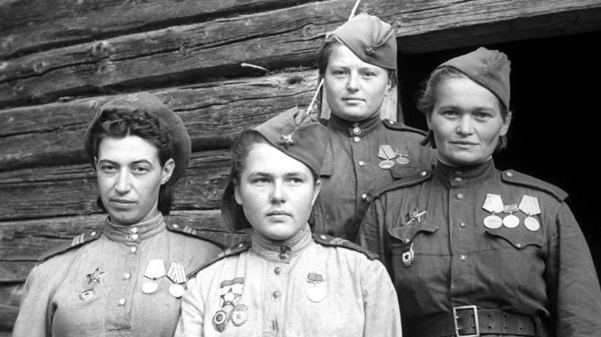 Женщины-педагоги на войне