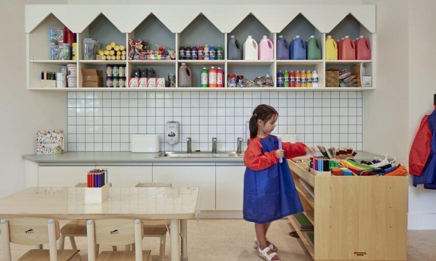 Обучающие пространства: Обучение и игра в раннем возрасте